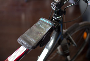 support pour smartphone btwin 300