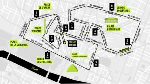 Parcours du 10Km Nike Paris Centre