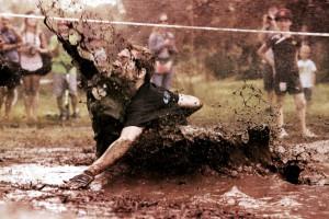 bain de boue au mud day